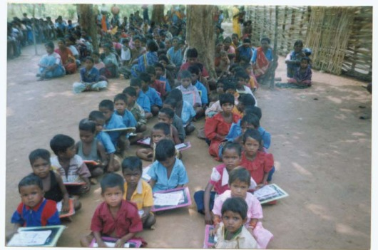 Maoist School in Chhattisgrah