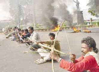 Kalinga nagar protest