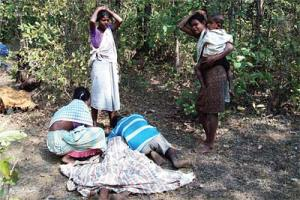 Grief-stricken Villagers who retrieved the bodies the next day said the women were half-naked