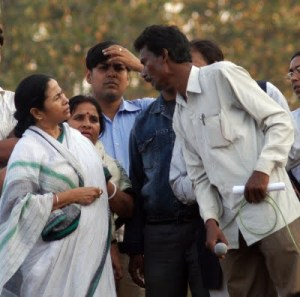 Mamata-Chatradhar meeting in Lalgarh on 4th Feb.2009