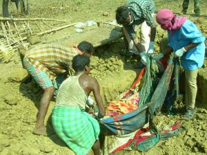 singaram village, On 8th jan 2009, 18 villagers were killed by police & spos