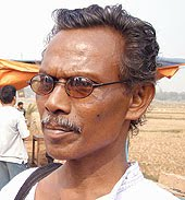 Lalmohan Tudu was picked up from his house by the West Bengal police and shot dead on 22.2.2010