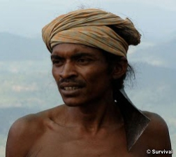 Lodu (Lado) Sikaka and Sena Sikaka, two Dongria Kondh  men from Odisha, have been leading their tribe's struggle against a massive bauxite mine planned for their land by  Vedanta Resources.
